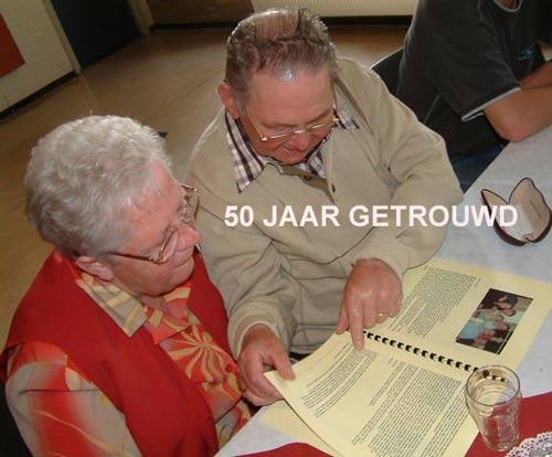 Gedicht Voor 50 Jarig Huwelijk